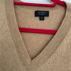 Jcrew cashmere sweater.